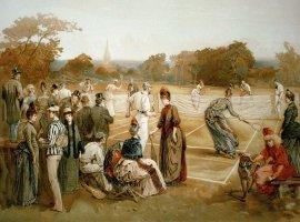Теннис для королевских особ в средневековье